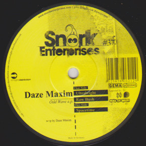 Daze Maxim - Odd Wave EP  Snork Enterprises